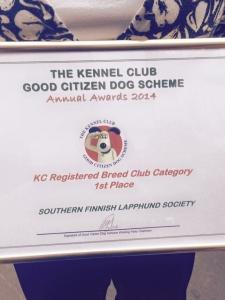 2014 KC GC awards 1st place